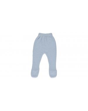 Calças tricotadas com pé