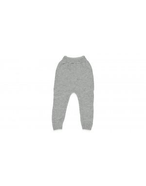 Calças tricotadas sem pé