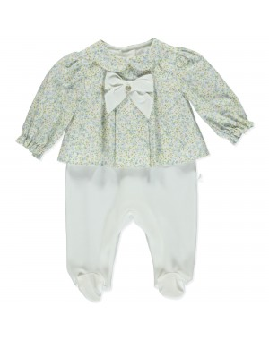 Pink and Blue Babygrow