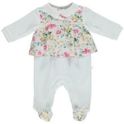 Cute Flowery Babygrow