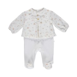 Babygrow com blusa floral