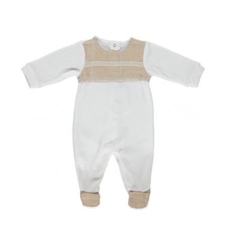 Babygrow in velvet