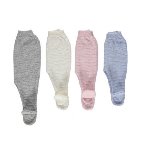 Pantaloni lavorati a maglia